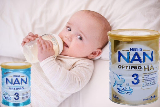 sữa NaN cho trẻ sơ sinh